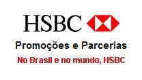 Promoções cartão HSBC