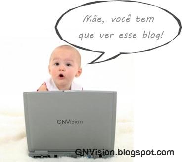 bebe acessando facebook blog