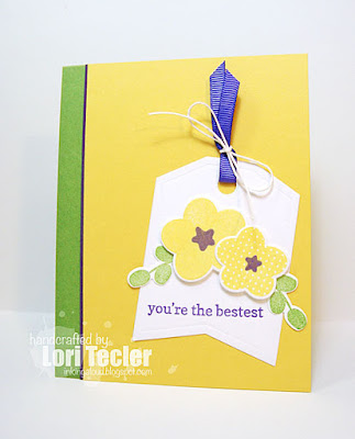 You're the Bestest card-designed by Lori Tecler/Inking Aloud-stamps and dies from Reverse Confetti