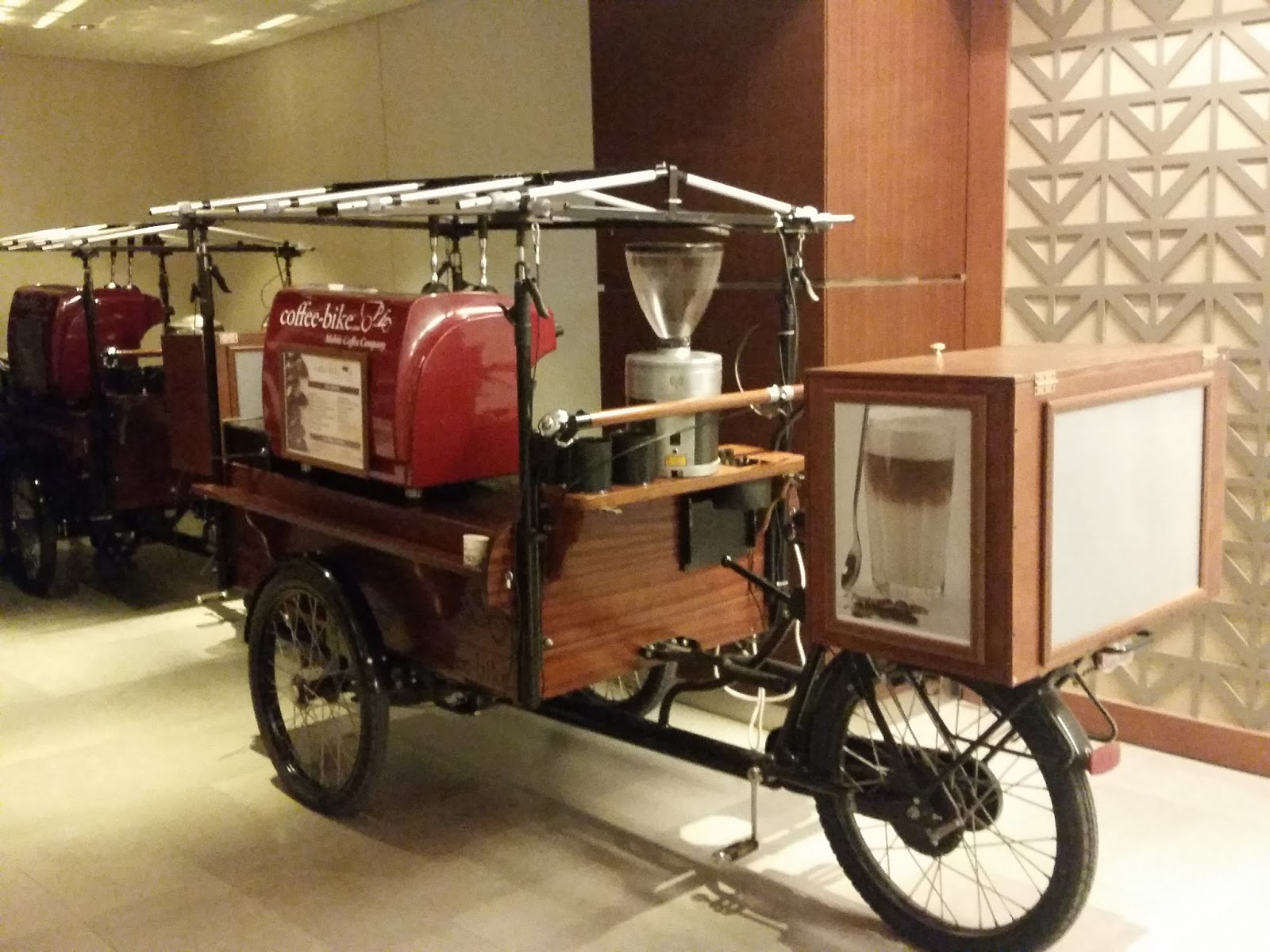 Mobile Coffee Bike Thingy