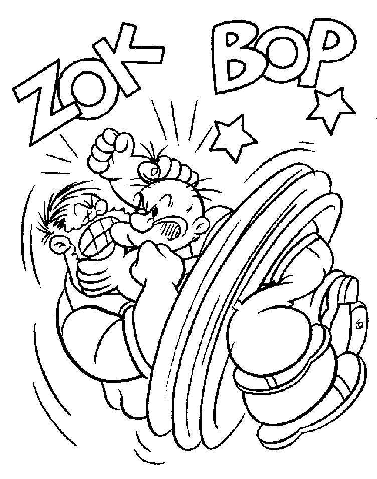 Coloring Pages Of Popeye