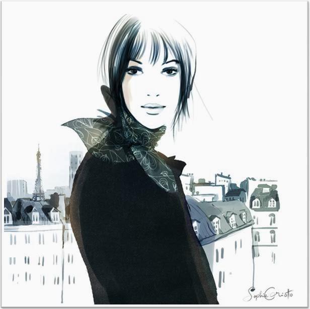Sophie Griotto ilustraciones moda