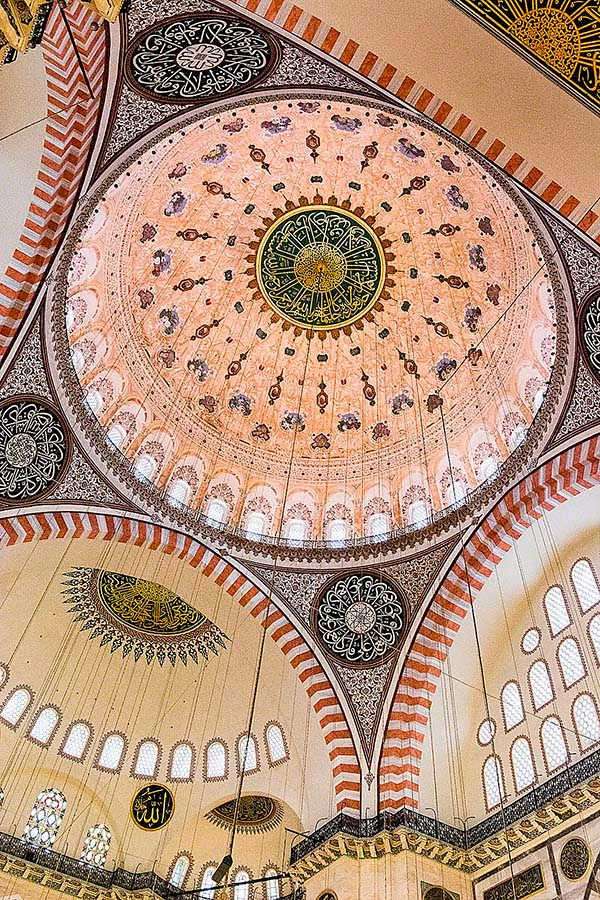 Süleymaniye Mosque Dome, Istanbul