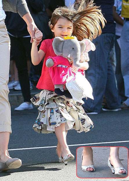 wear child kid people age carrying stuffed animals deal SURI CRUISE HEELS