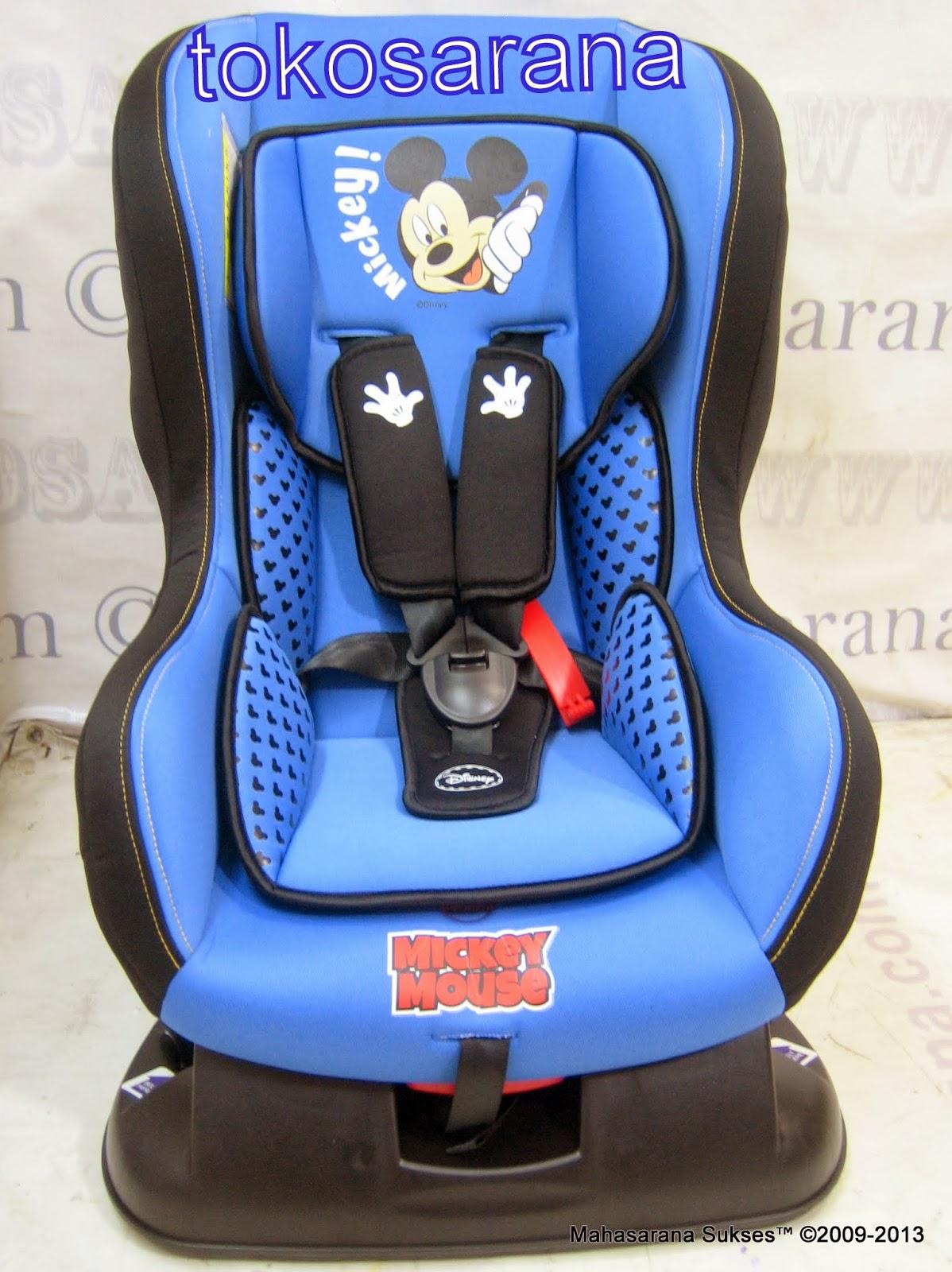 clearance sale sepeda mainan anak dan perlengkapan bayi baby car seat pliko db018b disney. Black Bedroom Furniture Sets. Home Design Ideas