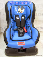 Baby Car Seat Pliko DB018B Disney Mickey Mouse and Friends Group 0+ dan 1 (New  Born - 18kg)