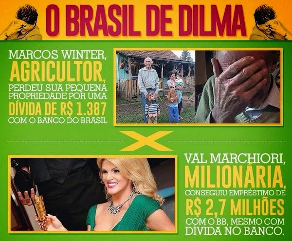ESTE É O BRASIL DO PT!