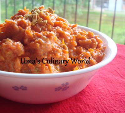 Indian Gajar Halwa