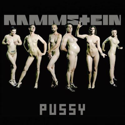 Portada del single Pussy de Rammstein