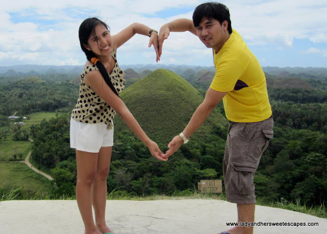 ed_and_lady in Chocolate_Hills, Carmen Bohol