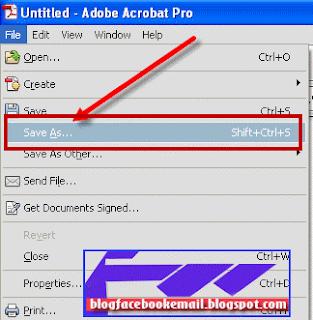membuat dokument dengan format pdf