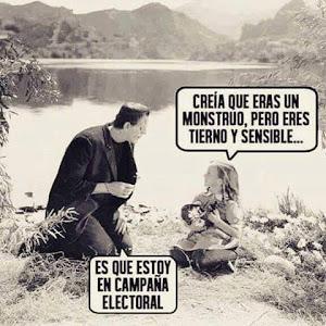MILAGROS DE LAS CAMPAÑAS ELECTORALES..