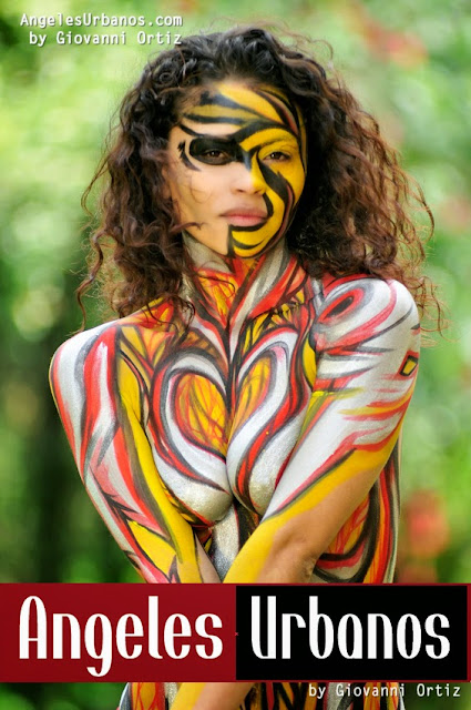body paint fantasy