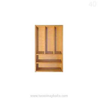 cubertero madera cajon cocina 40