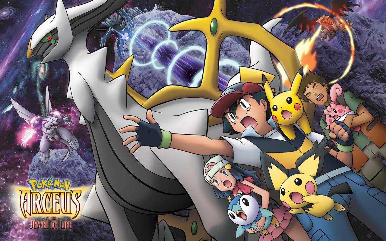 Colección de Wallpapers Pokémon Arceus-and-the-jewel-of-life-legendary-pokemon-9230101-1280-800