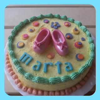 tarta para una bailarina