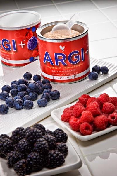 Argi + cu fructe de padure