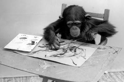 Как животные зарабатывают на живописи