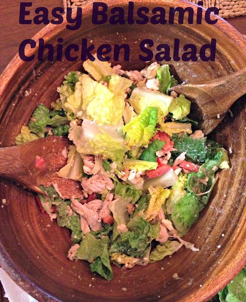 Recipe: Balsamic Chicken Salad
