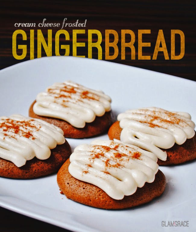 Gingerbread cookies with cream cheese frosting recipe