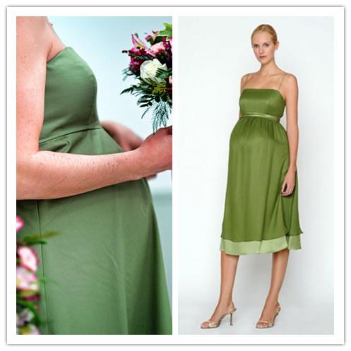 beautiful maternity bridesmaid dresses