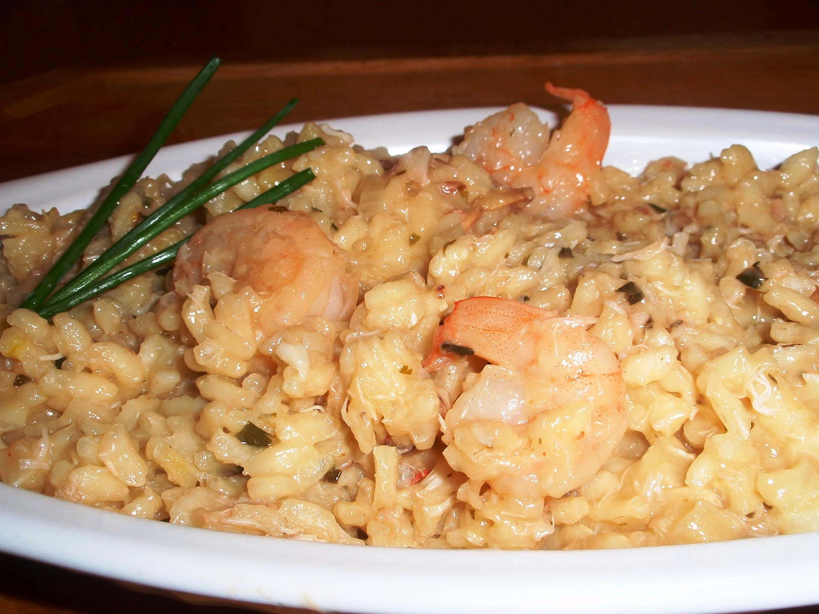 Culinary Orgasm: Crab and Shrimp Risotto with Herbs