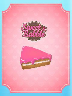 Screenshots of the Sweet and Bubble for java mobile, phone.