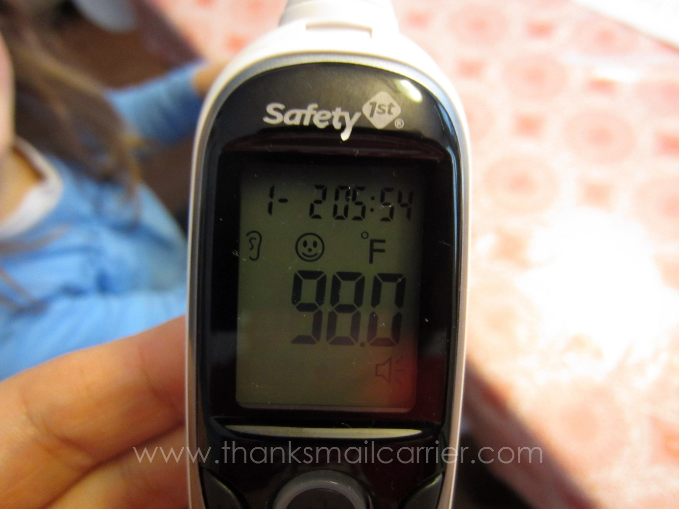 safety 1st thermometer how to change mode