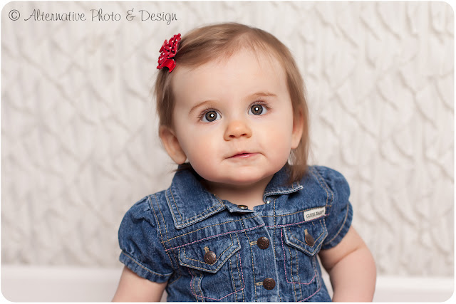 Sweet {F} 9 Month Session | Baby Photographer Janesville Wisconsin
