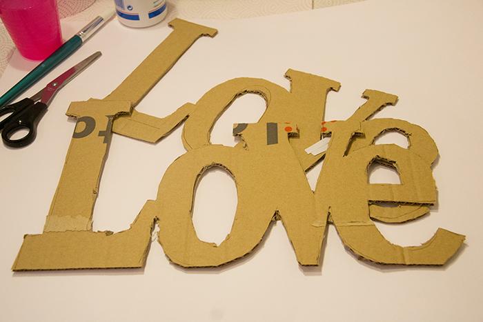 papel mache-letras-carton