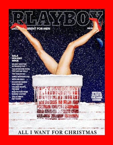 Playboy December 2013 Cover 'Glows in the Dark'