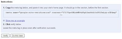 Cara  Mendaftar di Google Webmaster Untuk SEO