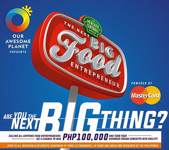 JOIN & WIN THE BIG FOOD ENTREPRENEUR