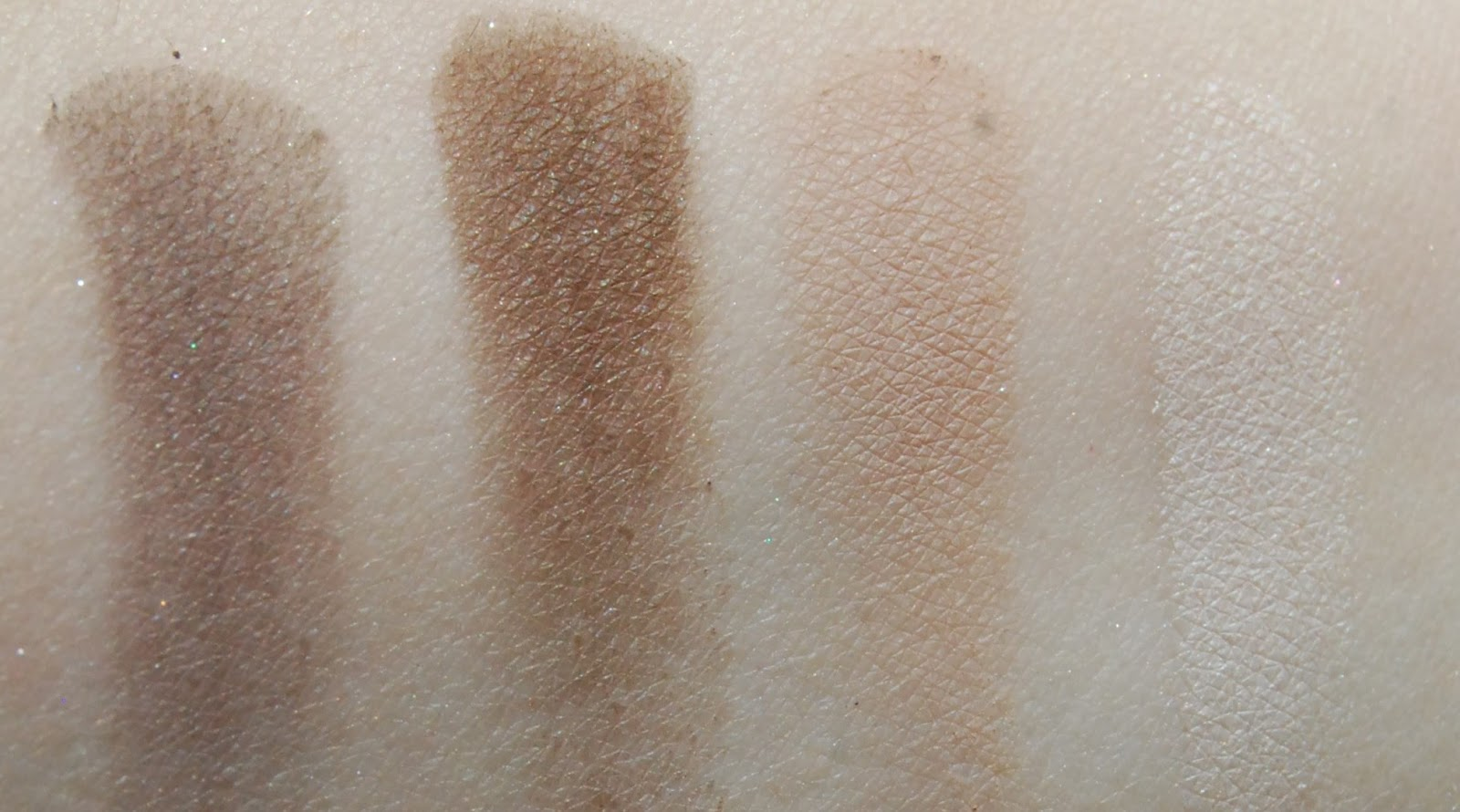 Urban Decay Naked Smoky Swatches