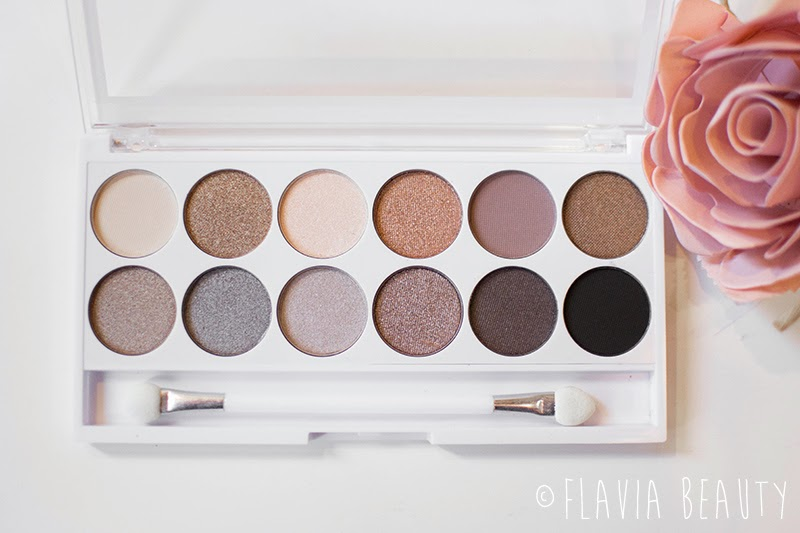 MUA Undress me too nude eye shadow palette review swatch pictures cheap