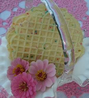 party pizzelles-no bake cookies
