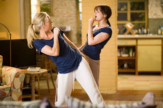 Kate Hudson and Ginnifer Goodwin in a scene from 'Something Borrowed'