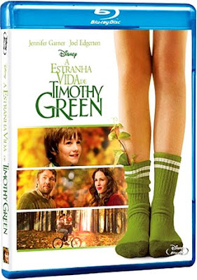 Filme Poster A Estranha Vida de Timothy Green BDRip XviD Dual Audio & RMVB Dublado