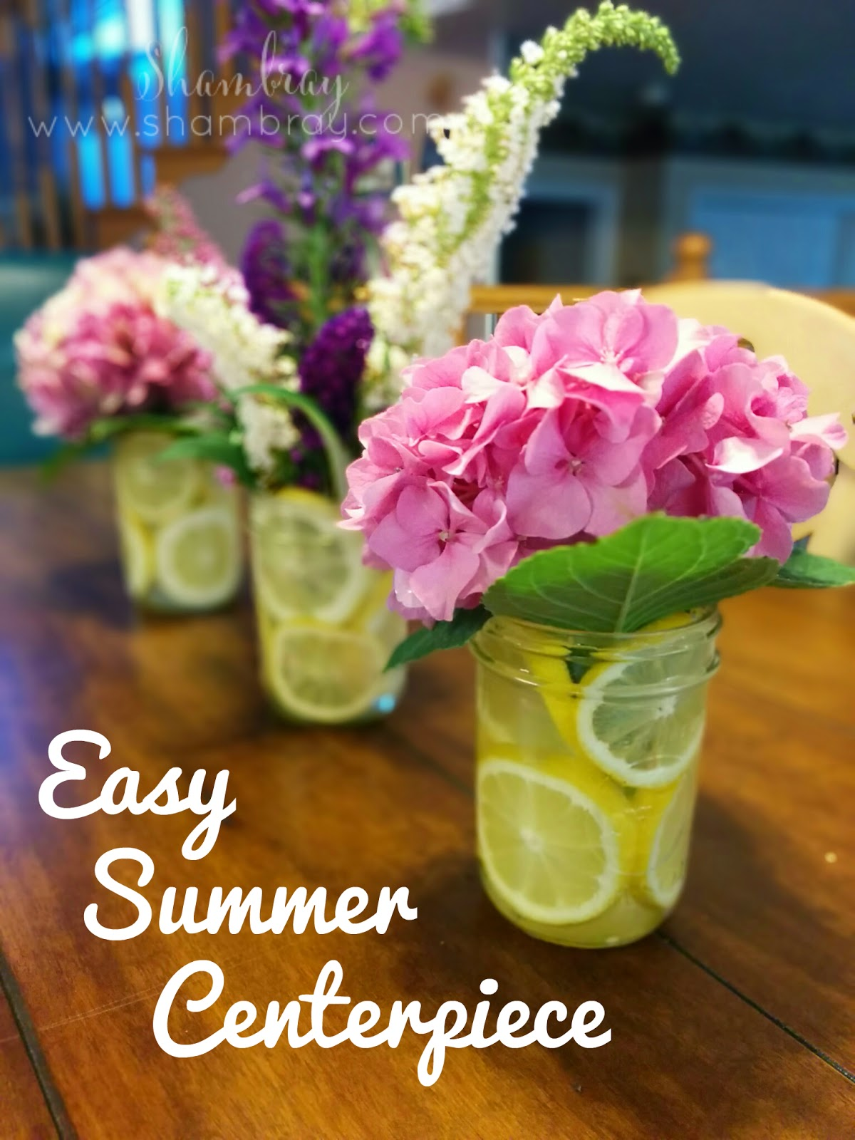 Shambray easy summer centerpiece