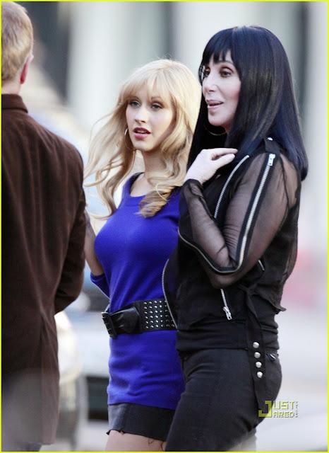 Cher and Cristina Aguilera