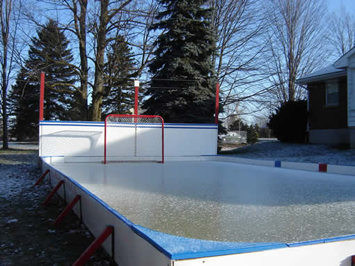 welcome back hockey the beautiful backyard skating rink