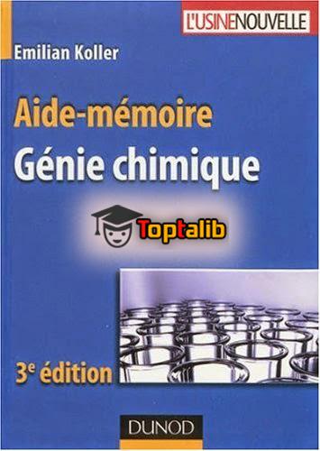 télécharger le livre aide mémoire de génie chimique emilian koller
