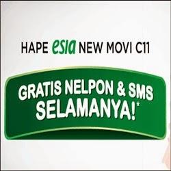 Handphone - Hp Esia New Movi C11