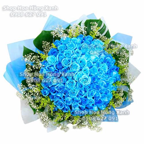 hình ảnh hoa hồng xanh cực kì dễ thương, cực đẹp