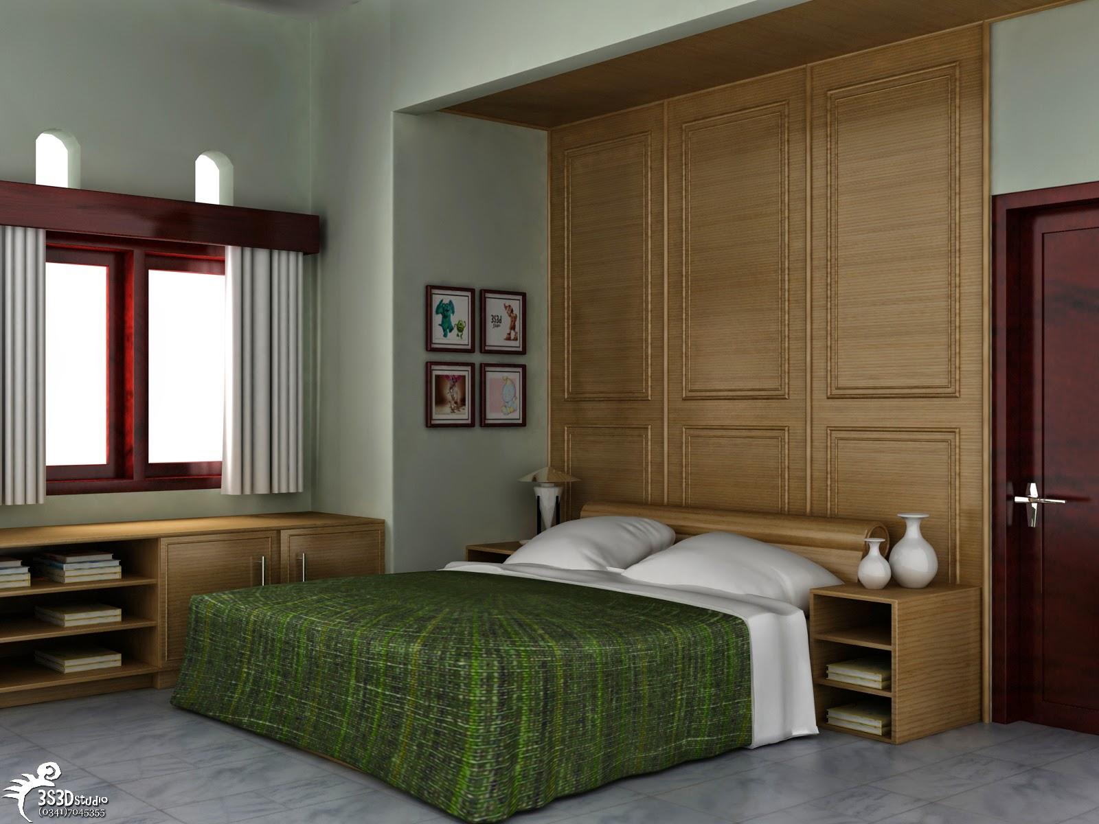 Model Desain Interior Kamar Tidur Yang Nyaman Rumah