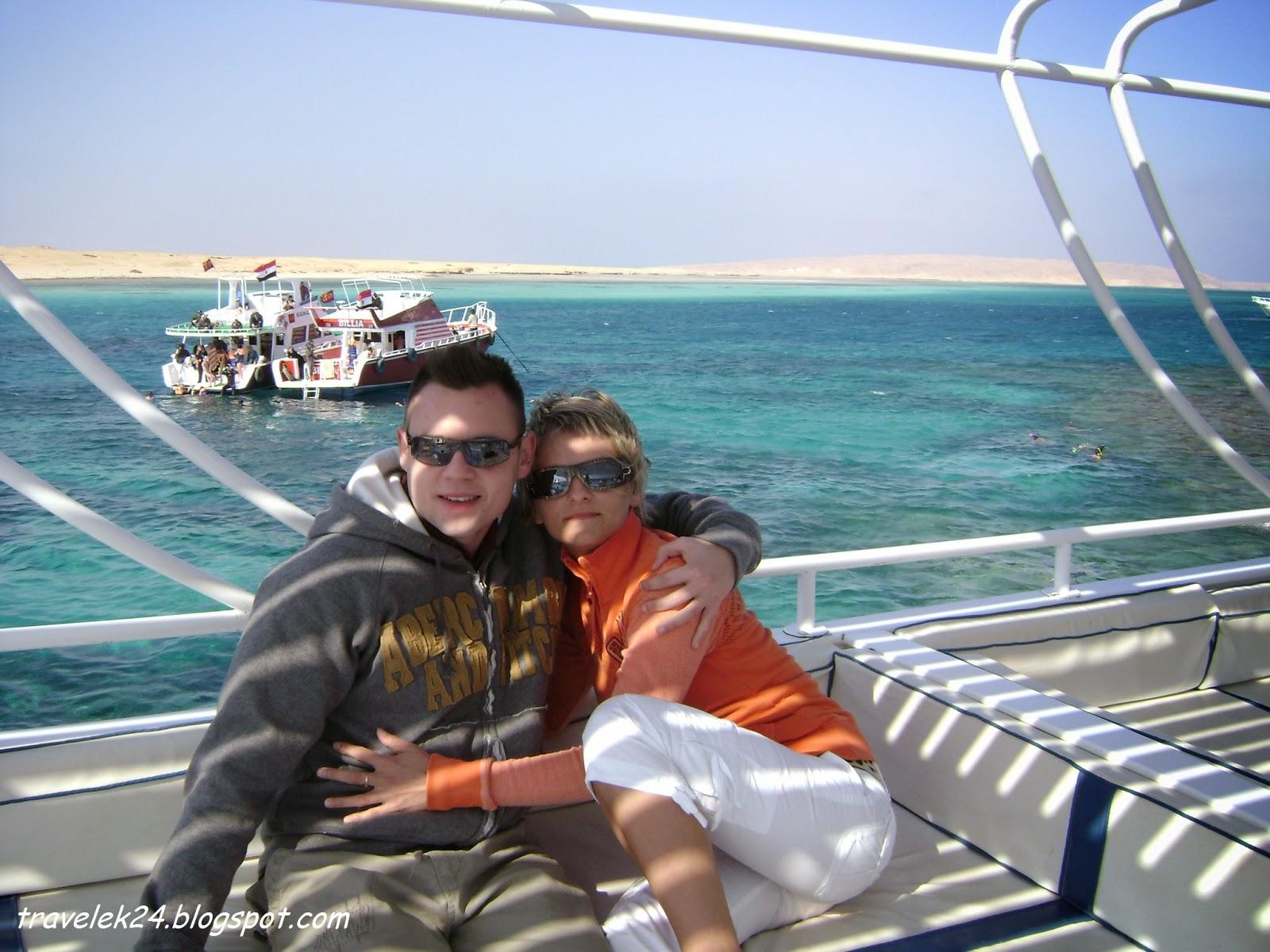 Rejs na wyspę Giftun, Hurghada Egipt
