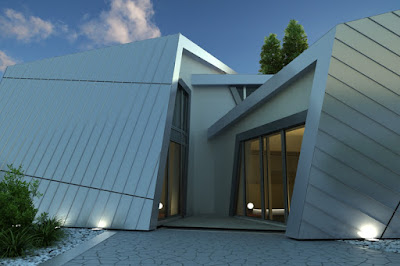 Custom prefabricated home, Germany