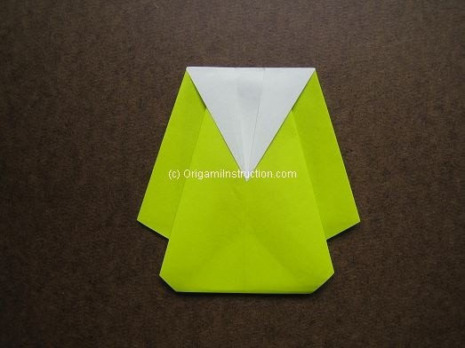 Origami Instruction Origami Easy Raincoat