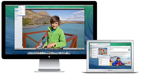OS X Mavericks Retine Display