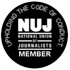 National Union Of Journalists Member